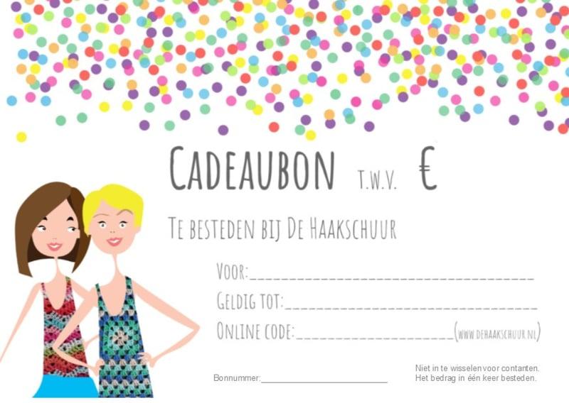 Cadeaubon € 5,00