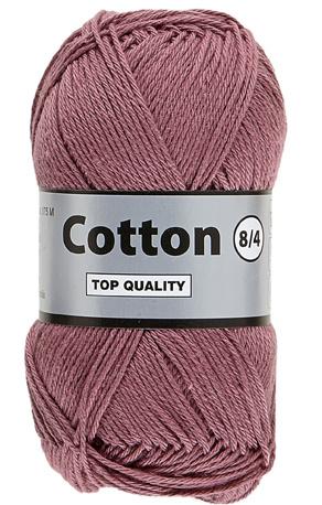 Cotton 8/4 760 mauve