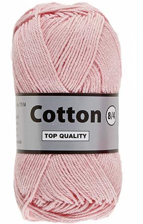 Cotton 8/4 710 roze
