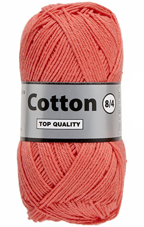 Cotton 8/4 720 koraal