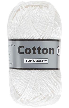 Cotton 8/4 844 gebroken wit