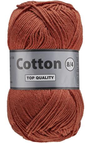 Cotton 8/4 859 terrecotta