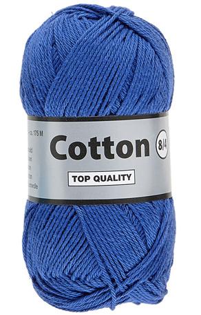 Cotton 8/4 039 middenblauw