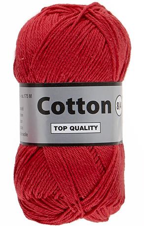 Cotton 8/4 043 rood