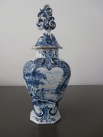 Dekselvaas, 'De Porceleyne Bijl' 1657-1813