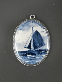 Medaillon met maritiem thema