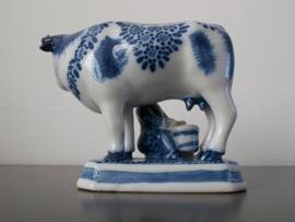 Koe met melkster, Royal Makkum Tichelaar