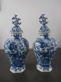 Dekselvazen, 'De Porceleyne Bijl' 1657-1813