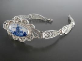 Zilveren filigrain armband