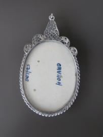 Royaal medaillon met filigraintoevoeging