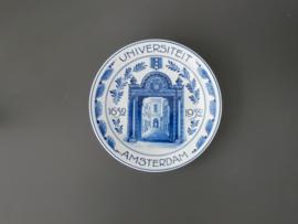 herdenkingsbord, 1932, UVA 300 jaar.