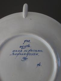 Presenteerschaaltje, PS Schoonhoven, dertiger jaren 20e eeuw