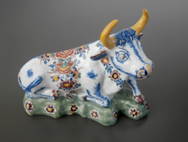Delftse koe, liggend ca 1760