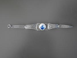 Zilveren filigrain armband.