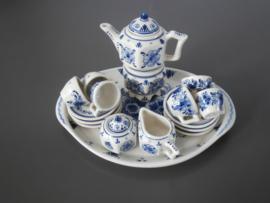 Miniatuur theeservies, Plateelbakkerij Schoonhoven