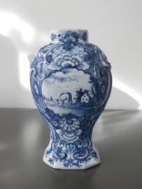 Dekselvaas;  De Porceleyne Schotel,  1764-1772