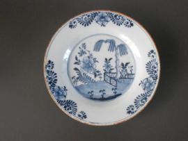 Bord van 'De Porceleyne Bijl' 1657-1813
