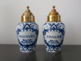 Decoratieve tabakspotten, antiek