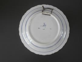 De Porceleyne Fles, Sierbord 29 cm.