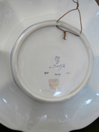Gelobde plooischotel 36 cm, De Porceleyne Fles
