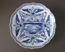 Vintage keramiek, delftsblauw