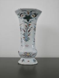 Bekervaas Delfts, polychroom;   ca 1760