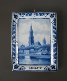 Wandplaatje DELFT, 1906, De Porceleyne Fles