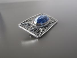 Mooi vormgegeven  broche, 40 mm