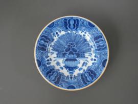 324; Pauwenstaart bord, Tichelaar Makkum