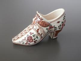 Gekleurd schoentje, ca 1880   De Porceleyne Fles