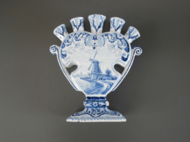 ca 1890,  tulpenvaas, Tichelaar Makkum
