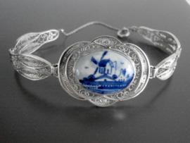 Royale armband met filigrain schakels