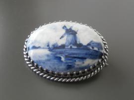 Zeldzame antieke broche uit 1896, Weduwe Brantjes
