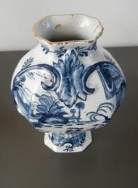 Balustervaas, 'De Porceleyne Bijl' 1657-1813