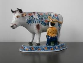 213; Koe met melkster  XL,  Tichelaar Makkum