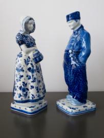 Boer en boerin (groot) 1964, De Porceleyne Fles
