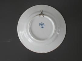 316; Pauwenstaart bord, Tichelaar Makkum