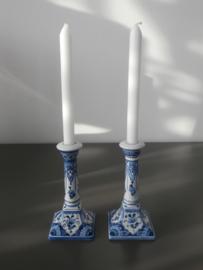 Staande kandelaars van De Porceleyne Fles