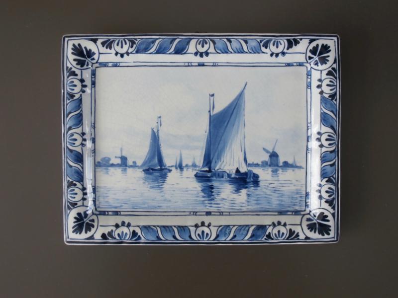 Wandplaatje 1906, De Porceleyne Fles, Delft