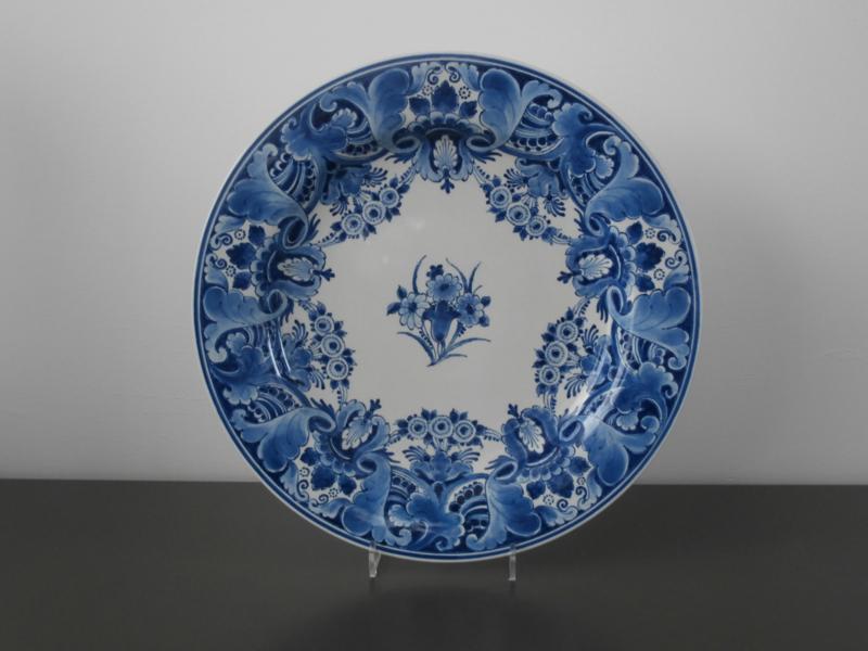 De Porceleyne Fles, Wandschotel 34,5 cm.