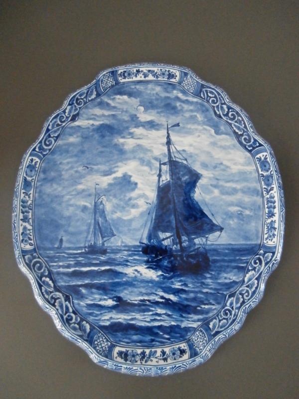1; Wandapplique, De Porceleyne Fles, naar Mesdag