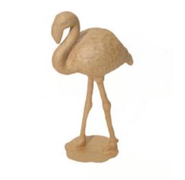décopatch figuur - roze flamingo sa134o