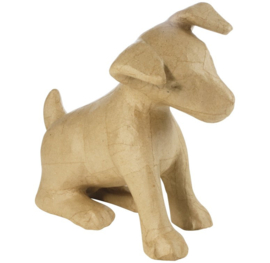 décopatch figuur - hond (Jack Russel) ma025o