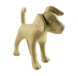 décopatch figuur - hond (Jack Russel) la008o