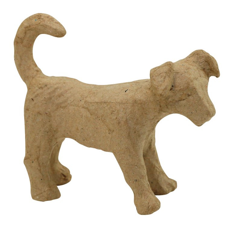 décopatch figuur - hondje (Jack Russel) ap153o