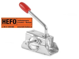 AL-KO neuswiel / steunpoot klem Ø 48 mm. 2 gaats