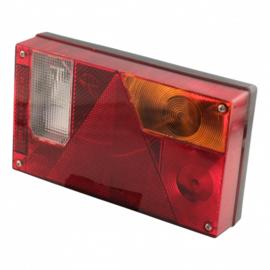 Multipoint I compleet achterlicht RECHTS / met achteruitrijlamp - 5 polig