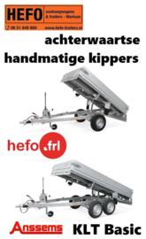 KIPPERS - handmatig, achterwaarts Anssems KLT Basic