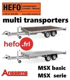 Auto/ MULTI TRANSPORTERS Anssems MSX - serie