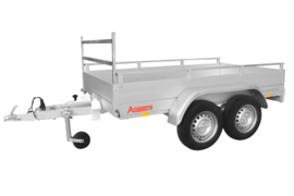 Anssems GTT- R -  750 kg. dubbelasser 2.51 x 1.26 mtr.